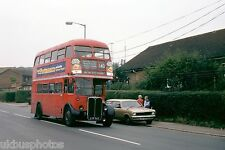 London Transport RT2602 Mill Hill East 12th July 1978 Bus Photo