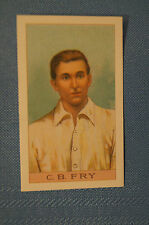 1912 Reeves Chocolates Cricket Prints by County Print 1993 - C.B. Fry.