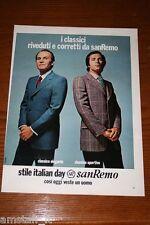 AU8=1972=SANREMO CONFEZIONI ABBIGLIAMENTO=PUBBLICITA'=ADVERTISING=WERBUNG=