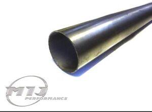 "2.5"" / 64mm Diameter Stainless Steel Exhaust Straight Tube Pipe 0.5m metre 50cm"