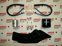 Genuine Ducati Spare Parts Full Service Kit, Timing Belts, 748 916 996 SP SPS