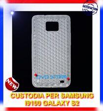 Pellicola+Custodia EXA CLEAR per Samsung I9100 galaxy s2 plus I9105