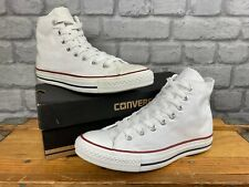 CONVERSE ALL STAR HI CHUCK TAYLOR LADIES WHITE CANVAS TRAINERS VARIOUS SIZES