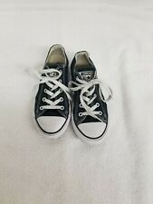 CONVERSE Chuck Taylor All Star Low Top Shoes Unisex Canvas Sneakers Size 1.