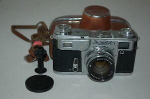 Kiev-4a Type-4 Vintage 1979 Soviet Rangefinder Camera. Service. 7900494. UK Sale