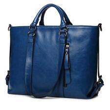 Elegant Women Oil Leather Handbag Tote Satchel Laptop Messenger Shoulder Bag G