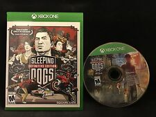 Sleeping Dogs: Definitive Edition  (Microsoft Xbox One) Region Free