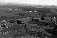 New 5x7 Civil War Photo: View from Summit of Little Round Top Hill, Gettysburg