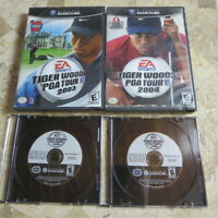 TIGER WOODS PGA TOUR 2003 2004 2005 ✨Nintendo Gamecube✨ USA Masters Golf ✨TESTED