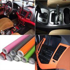 2Mx60CM Pellicola Adesiva Auto Moto Fibra Di Carbonio 3D In Vinile Car Wrapping