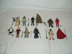 Star Wars Return of the Jedi Vintage 1983-1984 Action Figures Lot of 11