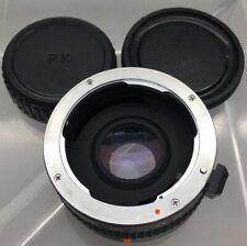 Vivitar Tele Converter MC (multicoated) 2X-22 for Pentax PK w/ Cap - B15