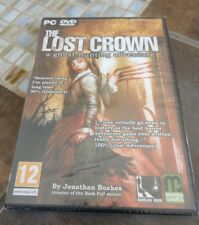 THE LOST CROWN: A GHOST-HUNTING ADVENTURE (PC, 2008)  ***New & Sealed***