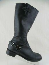 ECCO Knee-High Black Sz 10.5 (41 EU) Women Riding Boots