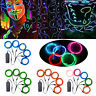 Neon LED Light Glow EL Wire String Strip Rope Tube Car Party+ Battery Controller