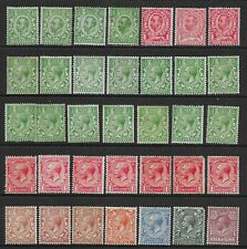 Collection of MINT GV stamps.