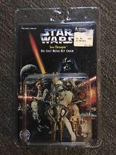 Star Wars 1996 Placo Toys Die Cast Metal Keychain C3PO See-Threepio