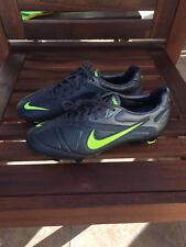 2012 Nike CTR360 Maestri II 6.5 Dark Shadow Volt Metallic Dark Grey