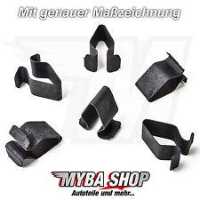 20x metal fijación paréntesis clip revestimiento interior para VW skoda seat 8l4867276