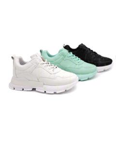 Damen Plateau Chunky Sneaker Turnschuhe Schnürer Freizeitschuhe Schuhe
