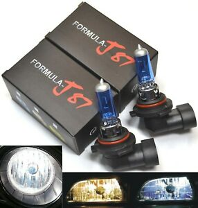 Rally 9006 HB4 100W 5000K White Two Bulb Fog Light High Wattage Replacement Lamp