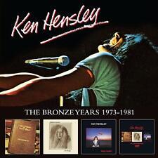 KEN HENSLEY The Bronze Years 1973-1981 3XCD /1X DVD SET (22NDNOV)