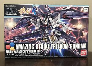 BANDAI HG Build Fighters 053 Amazing Strike Freedom Gundam 1/144 Scale Model Kit