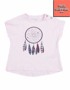 ESPRIT T-Shirt Top Size 6M / 68CM Coated Dreamcatcher