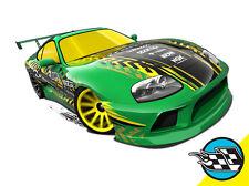 Hot Wheels Cars - Toyota Supra Green