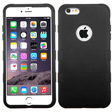 For iPhone 6S 7 Plus Shockproof Rugged Hybrid Rubber Protective Hard Case Cover