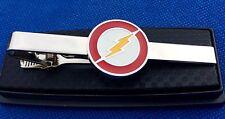 FLASH SUPERHERO TIE CLIP DC COMICS CLASP PIN GIFT IDEA BATMAN SUPERMAN