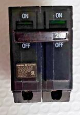 GE THQB2120 BOLT ON CIRCUIT BREAKER 30 AMP 120/240 VAC 2 POLE