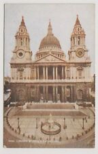 London postcard - St Pauls Cathedral, London