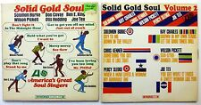 SOLID GOLD SOUL Vol. 1 & 2 lot of 2 LPs Atlantic 1966/1967 Percy Sledge    #369