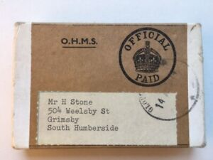 WWII Medals STONE RAF Grimsby Lincolnshire