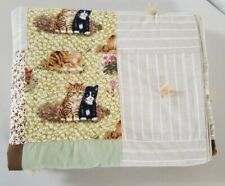 """Handmade Patchwork Style Quilt for Girls 68"""" X 56""""."""