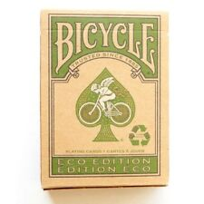 Eco Edition Bicycle Playing Cards - Green Eco Bicycle Deck from USPCC