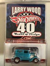 2009 Hot Wheels rlc Redline Club A-OK teal Larry Wood 40 years of design