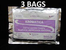 Alginate Kromatica Impression Material Regular/Normal Set Mint 1LB Bag - 3 BAGS