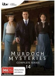 Murdoch Mysteries Complete Series Season 14 BRAND NEW Region 4 DVD