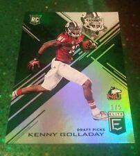 2017 Panini Elite Draft Kenny Golladay RC EMERALD💚 *1/5* ⚠️1/1⚠️ Lions WR MINT