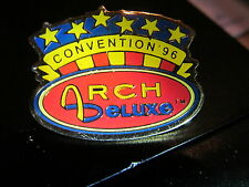 MCDONALDS  ARCH DELUXE CONVENTION  1996  VINTAGE  LAPEL PIN