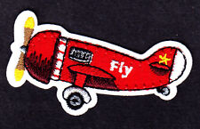 "Airplane ""Fly"" Aircraft Flying Plane Iron On Embroidered Patch"