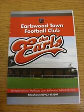 22/03/2014 Earlswood Town v Brocton  . Thanks for viewing our item, if you are c
