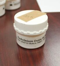 Gadolinium  oxide powder  Gd2O3 weight: 50g  purity: 99.999% Interachem   A08