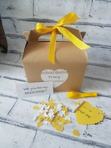 Will you be my Bridesmaid gift box, balloon in a box, wedding planning