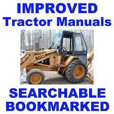CASE 480C 480 C Loader BACKHOE Tractor REPAIR SERVICE SHOP MANUAL SEARCHABLE CD