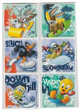 "25 Looney Tunes Winter Fun Stickers, 2.5"" x 2.5"""