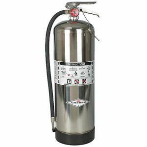 NEW!!! Stored Pressure Water Fire Extinguisher - 2.5 Gal. - Amerex 240