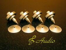 4 Pieces Professional Audio Equipment Metal Feet for Speaker or LP